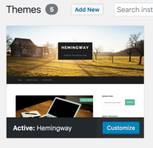 Build A Site With Me: How to Customize a Theme