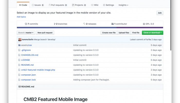 Adding Featured Mobile Images via CMB2