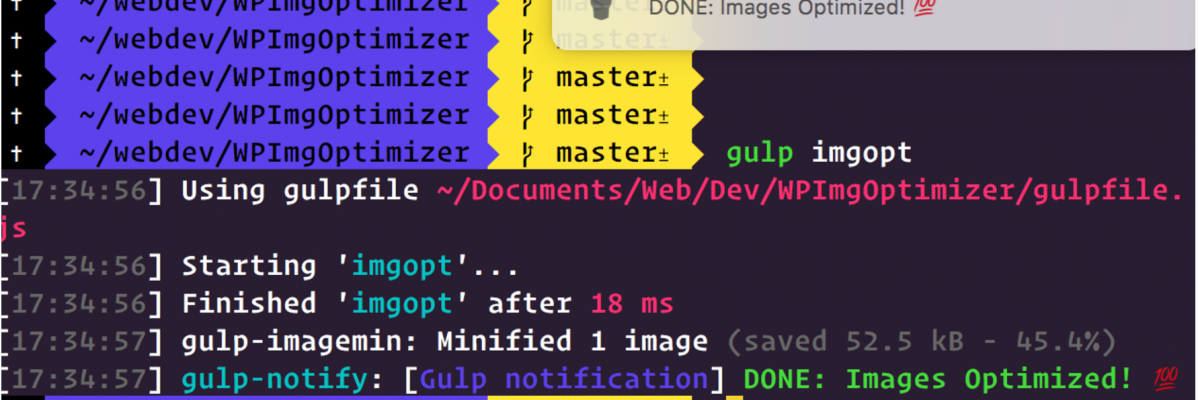 How to Auto Optimize Images Using NPM Scripts & Gulp for WP Development